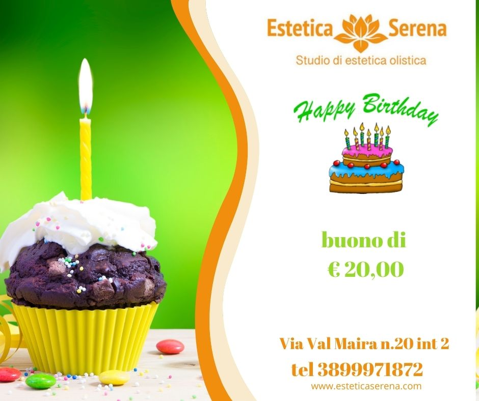 Promozione compleanno